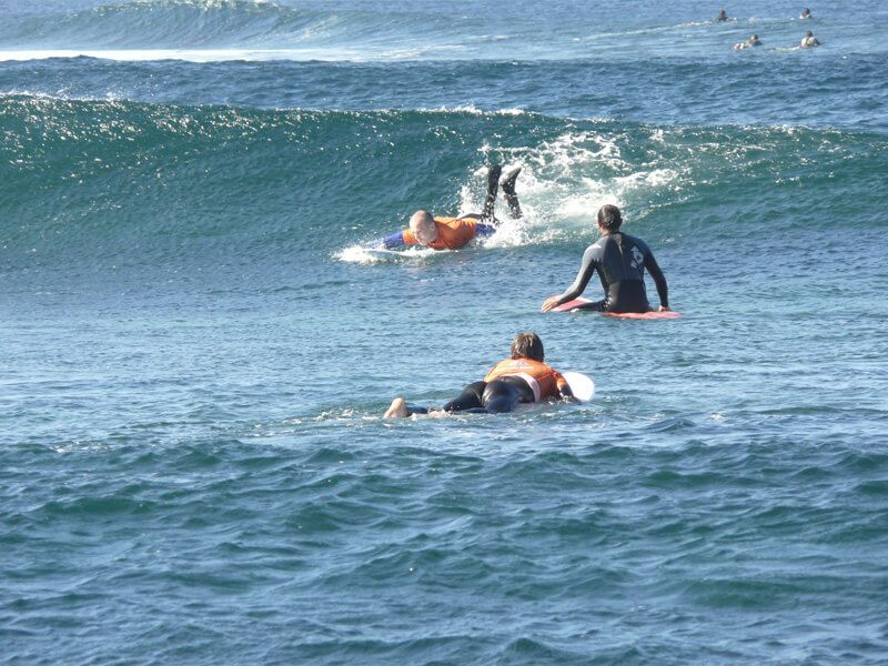 clases agua surf